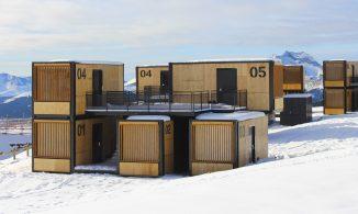 Le Figaro Magazine — Nature et Structure :  une suite nomade sur une piste de ski