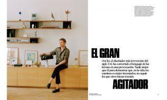 NEW YORK TIMES STYLE MAGAZINE SPAIN — Ora ïto el gran agitador