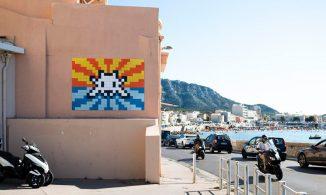 LIBÉRATION — À Marseille, Invader en insider